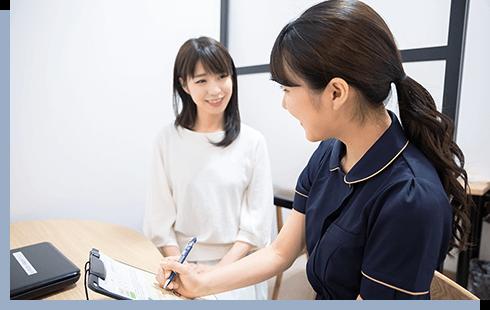 女性医師の診察・検査が可能