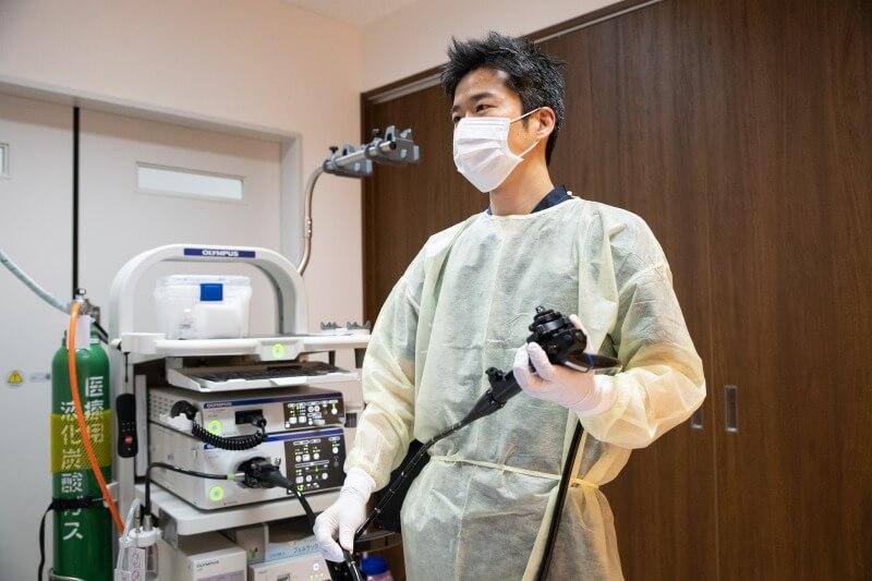 無痛大腸カメラ検査の実現