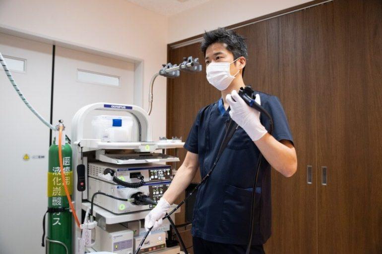 鎮静剤を使用し、苦痛に配慮した内視鏡検査