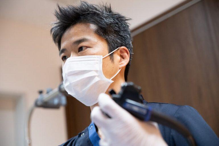内視鏡治療に精通した医師による診断および治療