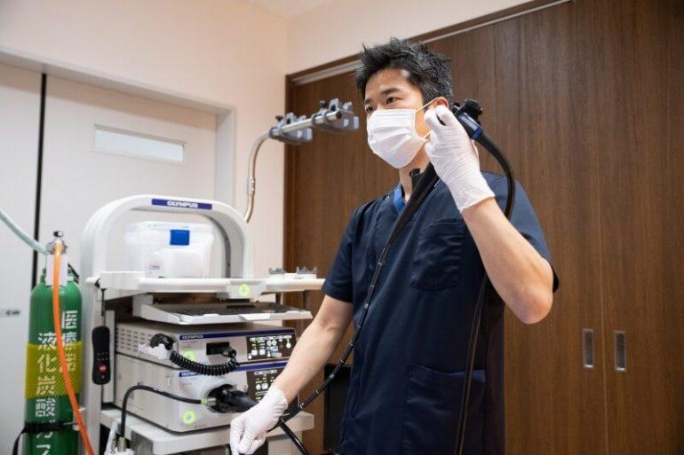 実際の胃カメラ検査の流れ