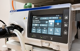 最新のオリンパス社「EVIS X1」導入
