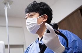 内視鏡専門医による内視鏡検査
