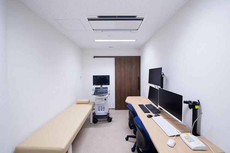 エコー検査室
